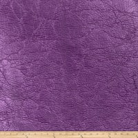 Fabricut Copper Penny Faux Leather Metallic Violet