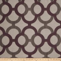Fabricut Diego Lattice Faux Silk Plum