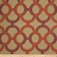 Fabricut Diego Lattice Faux Silk Tango