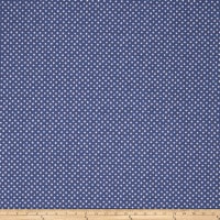 Fabricut Outlet Dinky Dot Denim