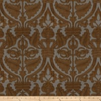 Fabricut Outlet Fontodi Faux Silk Ginger
