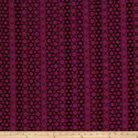 Fabricut Crypton Hexagon Magenta