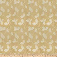 Fabricut Johan Leaves Faux Silk Gold