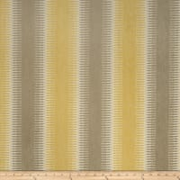 Fabricut Lodge Stripe Chenille Sunflower
