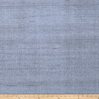 Fabricut Luxury Dupioni Silk Blue Smoke