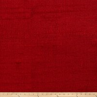 Fabricut Luxury Dupioni Silk Ruby