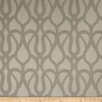 Fabricut Outlet Marisol Scroll Faux Silk Quarry