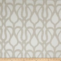 Fabricut Marisol Scroll Faux Silk Taupe