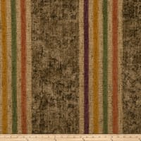 Fabricut Outlet Moondance Stripe Chenille Amber Glow