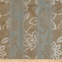 Fabricut Ombre Floral Jacquard Lagoon