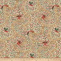 Fabricut Peking Cranberry