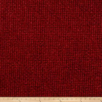 Fabricut Outlet Saville Chenille Scarlet
