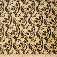Fabricut Outlet Seghesio Chenille Umber