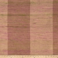Fabricut Shalini Stripe Silk Plum Wood