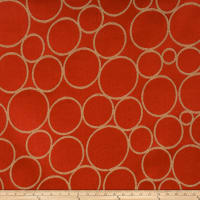 Fabricut Soap Bubbles Grenadine