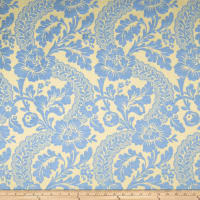 Fabricut Outlet Ritz Paris Sonnet Chenille Cornflower