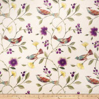 Collier Campbell The Singing Tree Linen Blend Peacock