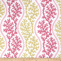 Fabricut Thetis Coral Pink Coral