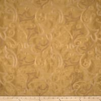 Fabricut Wim Faux Silk Antique Gold