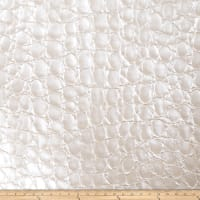 Fabricut Zirconium Oxide Faux Leather Pearl