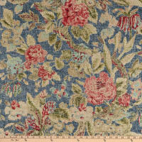 Waverly After Glow Linen Indigo