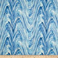 Studio NYC Current Ocean Sateen Twill