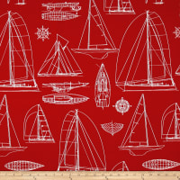 Richloom Solarium Outdoor Sailing Red