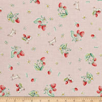 Penny Rose Bunnies & Cream Bunnies Strawberry Pink