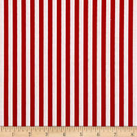 Stripe 1/4 Inch Color Red