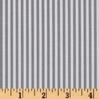 "Riley Blake 1/8"" Stripes Gray"