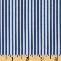 "Riley Blake 1/8"" Stripes Denim"
