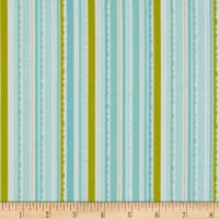 Riley Blake Happy Day Stripes Aqua