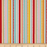 Riley Blake Happy Day Stripes Multi