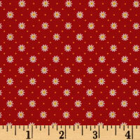 Penny Rose Gingham Girls Flower Red