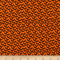 Penny Rose Trick or Treat Bats Orange