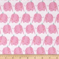 Itty Bitty's Elephants White/Pink