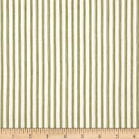 Anne of Green Gables Ticking Stripe Green