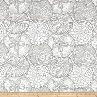 P/Kaufmann Outdoor Jacquard Sea Shells Stone Olefin