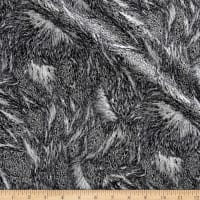 Nocturne Metallic Fur Dark Gray/Silver