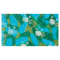 Bali Brushstroke Batiks Water Floral Meadow