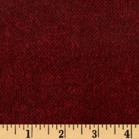 Timeless Treasures Oxford Flannel Tweed Texture Merlot