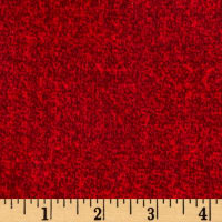 Timeless Treasures Oxford Flannel Soft Texture Red