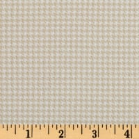 Timeless Treasures Oxford Flannel Mini Houndstooth Cream