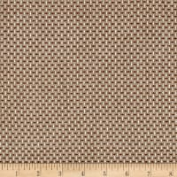 Intermix Dobby Shirting Stitch Weave Brown