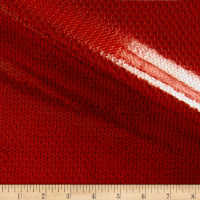 Sequin Look Vinyl Red
