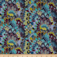 Liberty Fabrics Contemporary Classic Tana Lawn Eben Purple/Blue