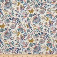 Liberty Fabrics Contemporary Classic Tana Lawn Mabelle Multi/Pink