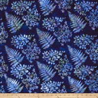 Bali Handpaints Batiks Mixed Leaves Lapis