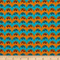 Dino Daze Bumps Teal/Orange