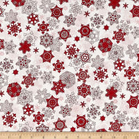 Merry, Berry & Bright Metallic Snow Glisten Radiant Cherry